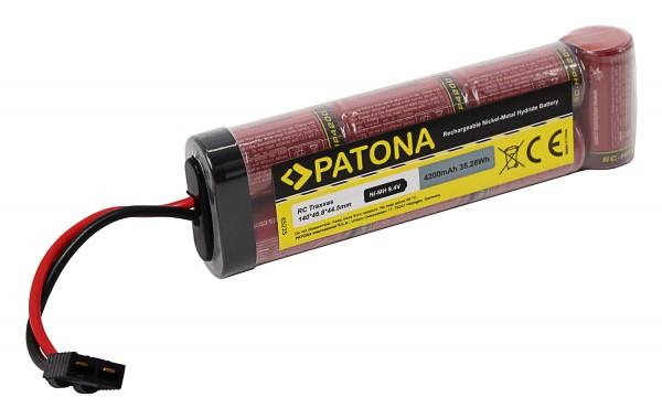 Batería RC 8.4V 4200mAh Ni-MH con conector Traxxas para vehículos RC